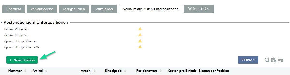 Button neue Position