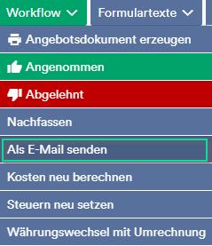 Workflow als E-Mail senden