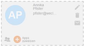 Neuer Benutzer