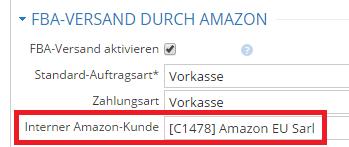 Interner Amazon Kunde