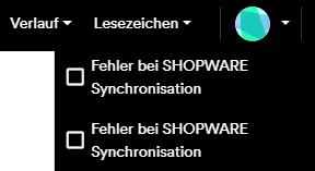 Fehler Shopware