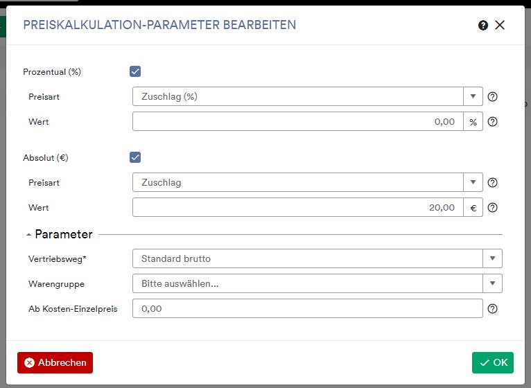 Preiskalkulationsparameter2