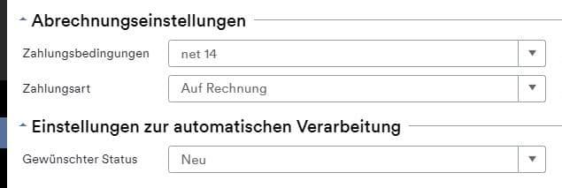 Automatische Verarbeitung