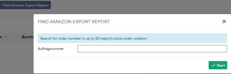 Amazon export report